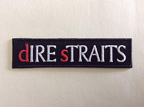 DIRE Straits 10 2,5 CM BLUE HAWAI ECUSSON Patches AUFNAHER Toppa THERMOCOLLANT