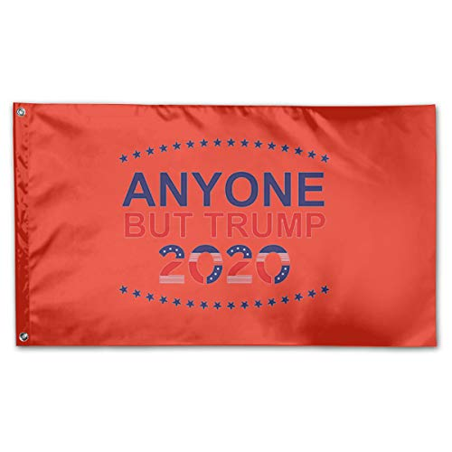 BOUFLAGON Anyone But Trump 2002 3x5 Ft Flag - Vivid Color - Tea Party Flags ()
