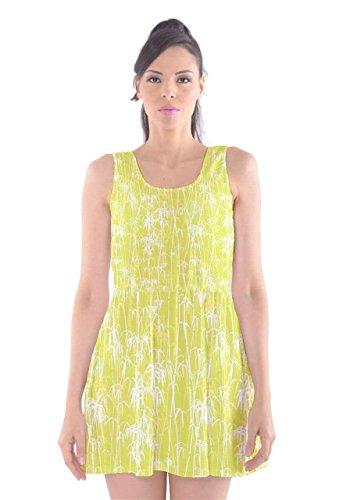 CowCow - Vestido - para mujer Yellow & White