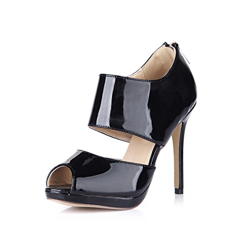 femmes femmes pour Black chaussures fines sur chaussures haut nouveau l'abricot Cliquez talon agrandir automne à wCYqtFqx