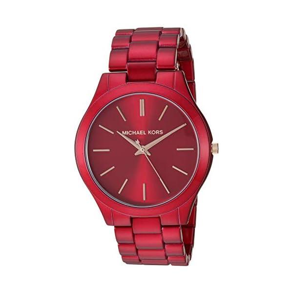 Michael Kors Slim Runway Women's Stainless Steel Watch – 42MM