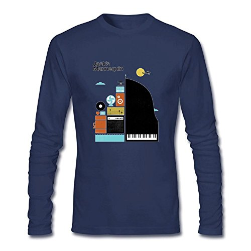Men's Jacks Mannequin 2016 World Tour Concert Long Sleeves T-Shirt