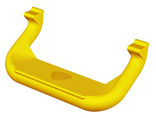 (Carr 128227 Super Hoop Truck Step XP7 Safety Yellow Powder Coat Pair Super Hoop Truck Step)