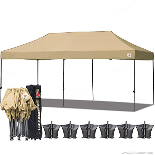 (18+ colors)AbcCanopy 10x20 Pop up Tent Instant Canopy Co...