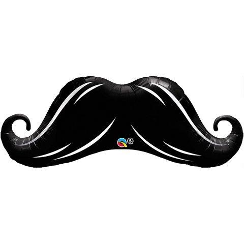 Mustache-Mylar-Supershape-XL-Mylar-Balloon
