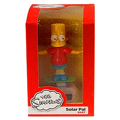 Bart Simpson Solar Pal - Licensed Design: Toys & Games