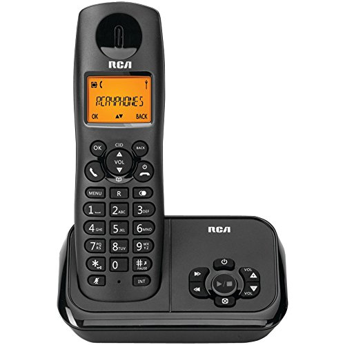 (1 - DECT6 CRDLS PHN+DAS SNGL, Element Series DECT 6.0 Cordless Phone with Caller ID & Digital Answering System (1-Handset System), DECT 6.0 , Caller ID, Digital answering system , 10 ringtones , 1 handset…)