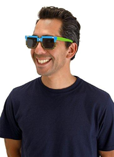 Elope Pixel Brick Sunglasses - Sunglasses Pixel Art