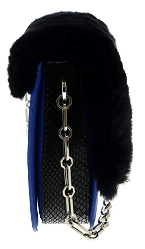 Roberto Cavalli HXLPG9 080 Blue Shoulder Bag for Womens
