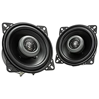 MB Quart FKB110 Formula 4 Inch 2-Way Coaxial Car Speakers, 12.20in. x 6.20in. x 2.90in.