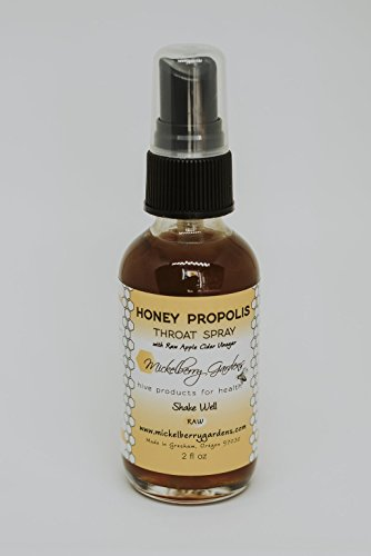 Mickelberry Gardens, Spray Honey Propolis, 2 Ounce