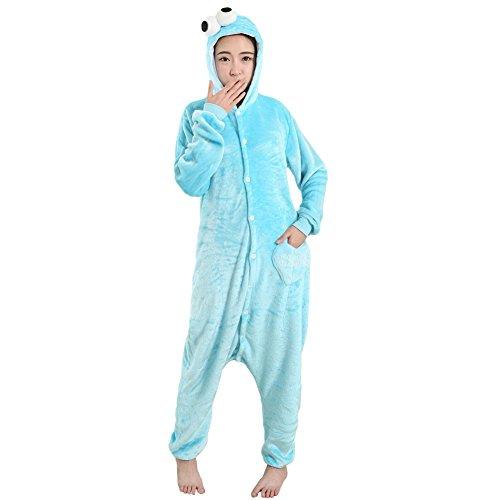 TouteSporting Anime Costumes Blue Kermit L (Mens Kermit Suit Costume)