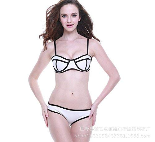 Swimwear bikini Neoprene Tms A Sexy Bianco Bikini Bikini In E1EtF