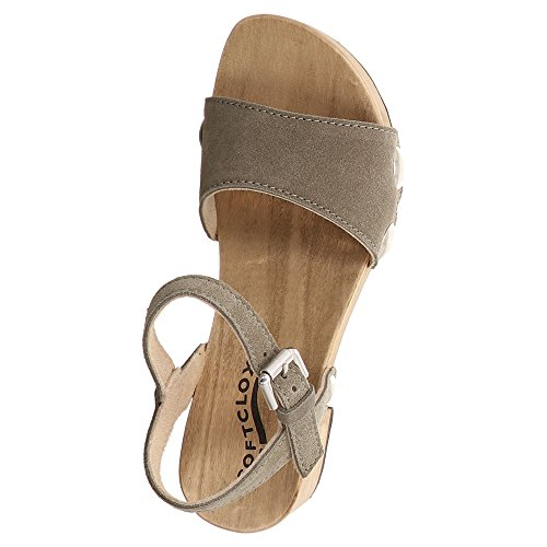 Softclox Dame Sandaletten Penny 3378 Oliv 408887 Oliv y0tkR