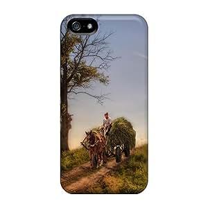 Cute Tpu GoldenArea Fantastic Rural Scene Hdr Case Cover For Iphone 5/5s