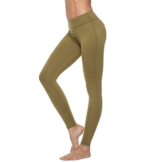 YyZCL Leggings de Yoga Legging Flexible para Mujer de ...