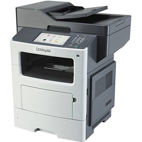 Lexmark International, Inc - Lexmark Mx611de Laser Multifunction Printer - Monochrome - Plain Paper Print - Desktop - Copier/Fax/Printer/Scanner - 50 Ppm Mono Print - 1200 X 1200 Dpi Print - 50 Cpm Mono Copy - Touchscreen - 1200 Dpi Optical Scan - Automatic Duplex Print - 650 Sheets Input - Gigabit Ethernet - Usb