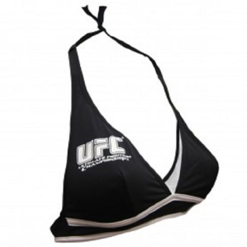 [Octagon Girls Replica Uniform Top Black Small] (Womens Boxing Costumes)
