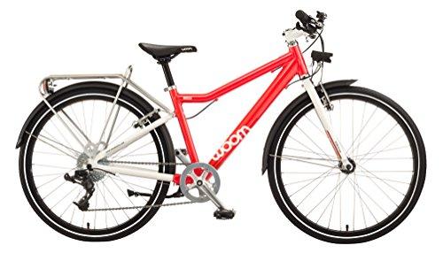 Cheap WOOM BIKES USA 5 City (9-13 Years) Bike, Red, 24″/One Size