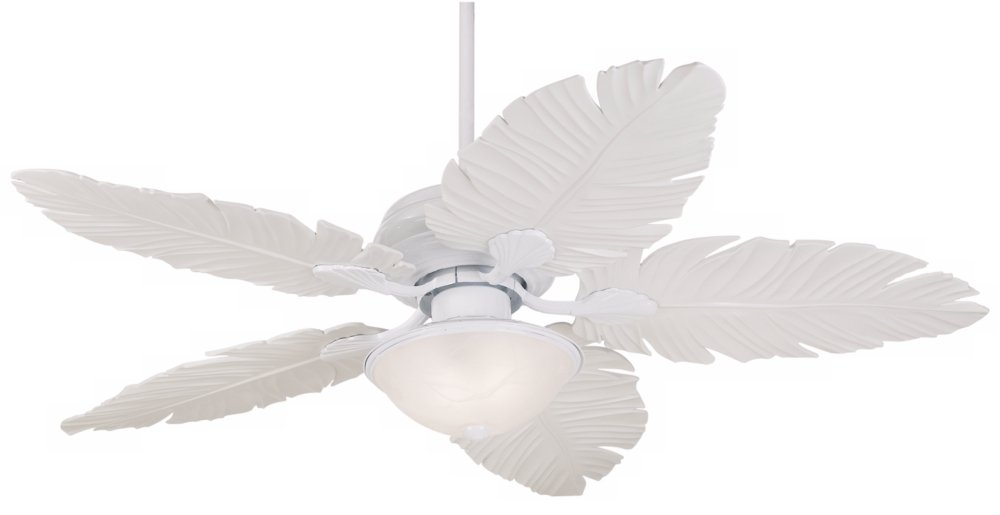 leaf contemporary blades palm fans residence size white banana tropical regarding fan ceiling light amazing with