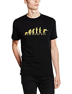 Shirtzshop T-Shirt Gold Edition Snooker Billard Pool Kö Evolution, Schwarz,...