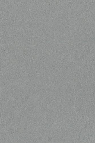 Mid Grey 5x7 Backing Board - Uncut Photo Mat Board (10-Sheets) (Gray Poster Board)