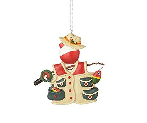 Bobber Vest Fishing Christmas Ornament product image