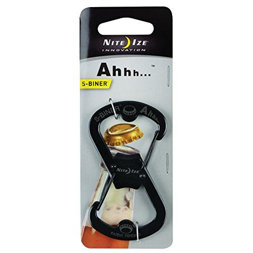 nite ize sbo 03 01 s biner ahhh carabiner clip bottle opener black buy online in uae tools. Black Bedroom Furniture Sets. Home Design Ideas