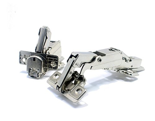 Stainless Steel Soft Close Hydraulic Cabinet Hinges (Full Overlay) - 7
