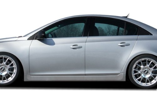 Couture ED-TUM-704 Urethane RS Look Side Skirts Rocker Panels - 2 Piece Body Kit - Compatible For Chevrolet Cruze 2011-2015