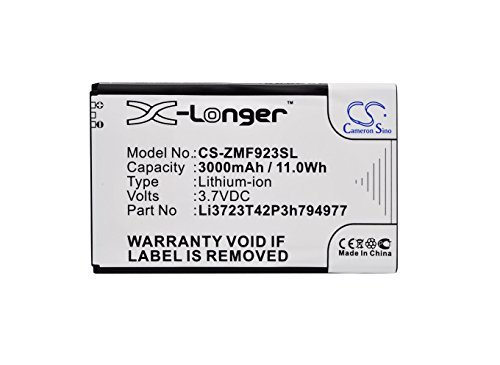 Bateria : AT&T Velocity 4G LTE ZTE MF923 VELOCITY fits ZTE L