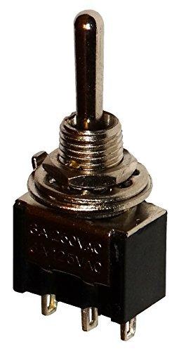 ON 1 posicion C10636 -OFF- AERZETIX: Interruptor conmutador de palanca SP3T 3A//250V ON