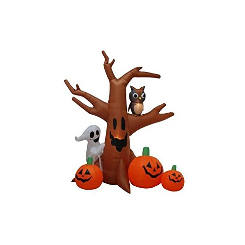 Halloween Inflatable Haunted Tree Decoration, Halloween -