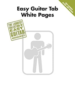 Amazon easy guitar tab white pages songbook ebook hal leonard easy guitar tab white pages songbook by hal leonard corporation fandeluxe Images
