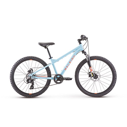 Raleigh Bikes Tokul 24 Kids Mountain Bike for Boys girls Youth 8-12 Years Old