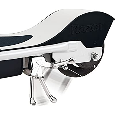 Razor E200S Seated Electric Scooter - White/Red : Sports & Outdoors