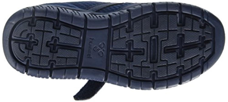 Hummel Crosslite Tonal Jr, Unisex Kids' Low-Top Sneakers, Blue (Dress Blue 7459), 1 UK (33 EU)