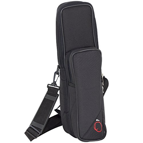 Ortola 6577-001 Funda flauta pata de si y flautin color negro