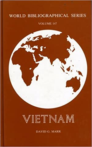 Vietnam (World Bibliographical Series) by David G. Marr