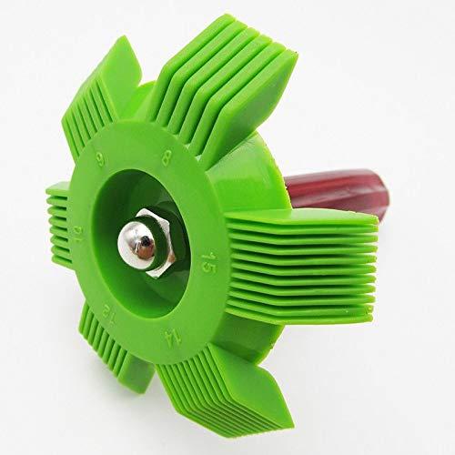 Doublele Condenseur Automobile d/évaporateur de radiateur de climatiseur de Nettoyeur de Peigne daileron de Peigne daileron de