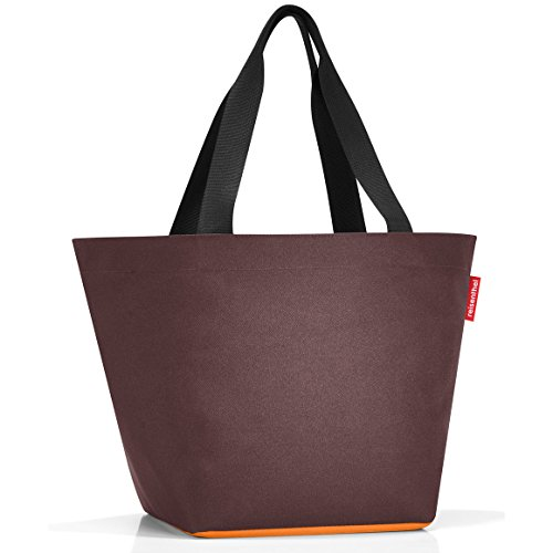 REISENTHEL SHOPPER BORSA PER LA SPESA M CHOCOLATE CURRY BORSA PER SHOPPING ACCESSORI DONNA IDEE REGALO
