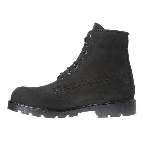 Timberland Mænds Seks-tommers Grundlæggende Støvler 10042-sort Nubuck Ruskind izYB5uVG