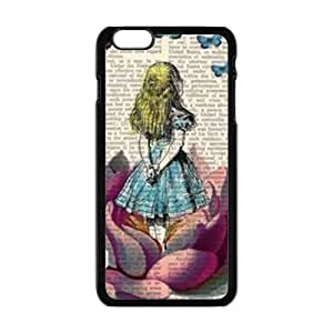 SHEP Lovely girl and butterfly Phone Case for Iphone 6 Plus