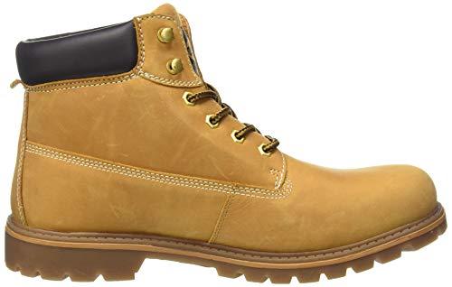 35ca001 910 Hombre Dockers golden Beige Militar Botas Para Tan zdxaBR