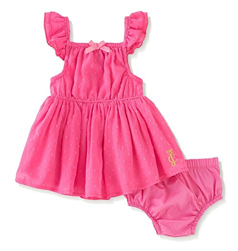 Juicy Couture Baby Girls' Swiss Dot Chiffon Dress