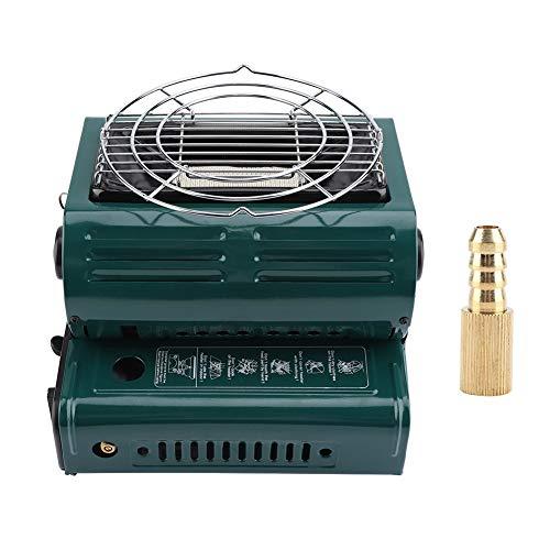 TOPINCN Calentador de Gas portátil al Aire Libre Uso Dual Calefacción al Aire Libre Cocina Calentador de Gas butano para...