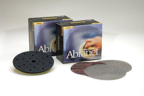 Mirka 9A-232-1000 Abranet 5'' Mesh Grip H & L Sanding Discs 50 Ct 1000 Grit by Mirka