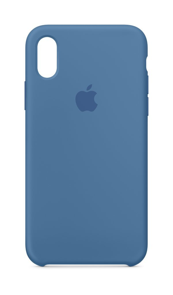 Apple Cell Phone Case for iPhone X - Denim Blue