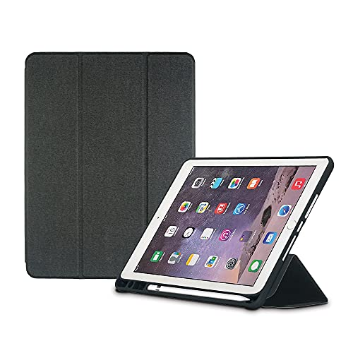 Neopack Delta Case/Flip Cover with Apple Pencil Holder for New iPad Pro 12.9 #34;  4th Gen    Black