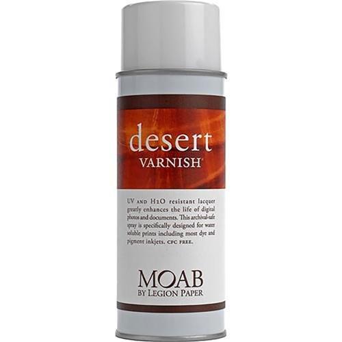 Moab Desert Varnish, Archival Digital Print Protection Spray, 13.5oz Can.